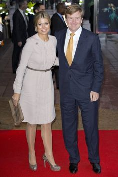 Crown Prince couple from the Netherlands