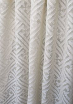 Mandarin+Cutwork+Sheer,+Natural Perfect for kitchen and bath roman shades