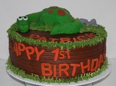 Dino Cake ~ NutMeg Confections