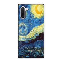 VAN GOGH STARRY NIGHT Samsung Galaxy Note 10 Case Cover  Vendor: Favocase Type: Samsung Galaxy Note 10 case Price: 14.90  This premium VAN GOGH STARRY NIGHT Samsung Galaxy Note10case will create premium style to yourSamsung Note10 phone. Materials are from durable hard plastic or silicone rubber cases available in black and white color. Our case makers customize and design each case in high resolution printing with best quality sublimation ink that protect the back sides and corners of phone… Luxury Van, Black And White Colour, Galaxy Note 10, Silicone Rubber, Phone Covers, Van Gogh, Samsung Galaxy, Printing, Notes