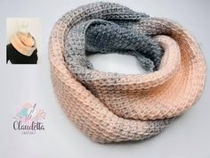 Crochet winter scarf Tunisian / simple - small balcony ideas - Knitting for beginners,Knitting patterns,Knitting projects,Knitting cowl,Knitting blanket Beginner Knitting Projects, Knitting For Beginners, How To Start Knitting, Easy Knitting, Creative Knitting, Knitting Ideas, Date Photo, Tunisian Crochet Patterns, Crochet Gratis