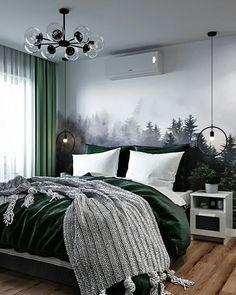 Интерьер и декор (@decor_journal) • Фото и видео в Instagram Room Ideas Bedroom, Bedroom Themes, Bedroom Styles, Home Decor Bedroom, Bedrooms, Home Room Design, Apartment Interior, Dream Rooms, New Room