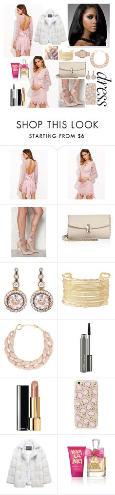 """""""Perfect Party Dress"""" by shababy0403 ❤ liked on Polyvore featuring Posh Girl, Dolce&Gabbana, Selim Mouzannar, Charlotte Russe, DIANA BROUSSARD, MAC Cosmetics, Chanel, Lilly e Violetta, Juicy Couture and Burberry"""
