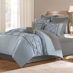 Home Classics Lilana 16-pc. Bed Set.  Master bedding?  Not sure I want a solid because it shows dirt/wear easier...beginning to look at possibilities if I get something new.