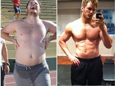 Chris Pratt Weight Loss Story — The Diet and Workout Regimen He Tried for Losing 60 Lbs in Six Months Fitness Transformation, Transformation Du Corps, Chris Pratt Transformation, Weight Loss Before, Best Weight Loss, Weight Loss Tips, Weight Loss Inspiration, Fitness Inspiration, Chris Pratt Weight