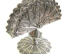 925 Sterling Silver Filigree Besamim for havdala  Free