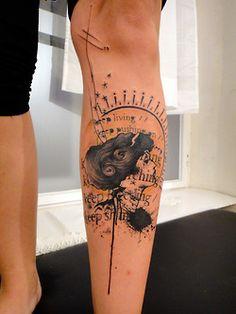 Xoïl, Needles Side Tattoo, France