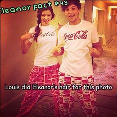 This always seems to make me mad somehow. But, how does anybody know that Louis braided her hair?!? Were you there? Did you witness Louis braiding her hair?? Did he ask you how it looked and if he did a nice job??? Dis he even say in an interview that he did her hair????? Because I would absolutley love to know where you got this information. Or ya know, where you get every single known fact about her personal life even though she's never even muttered a full sentence. Ya know, just…
