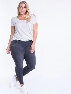 a8b30907b9b Super comfort premium stretch fabric - Midrise skinny jeans - 29