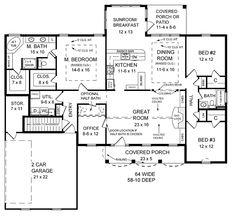 House Plan ID: chp-23145 - COOLhouseplans.com