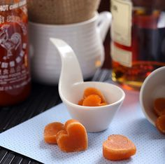 Whisky-Sriracha Candy