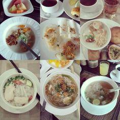 petits dejeuners soupes asiatiques