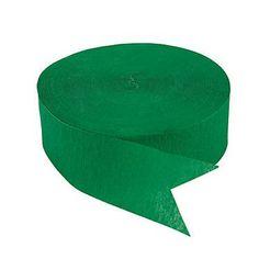 1 Roll Emerald Green Jumbo Streamers #C581
