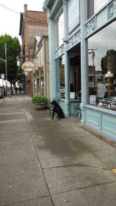 """The old """"April Fool's and Penny too"""" Port Townsend, WA. Building sold, business closed 2016."""