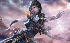 A Female Elementalist by ~ChaoyuanXu on deviantART