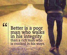 Proverbs 28.6