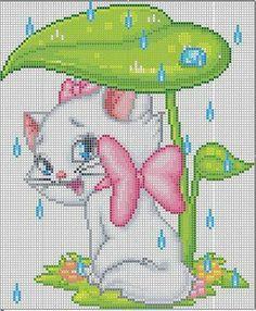 Lots of Patterns «rusensdiary Cat Cross Stitches, Cross Stitch Art, Cross Stitch Animals, Cross Stitch Designs, Cross Stitching, Cross Stitch Embroidery, Needlepoint Patterns, Embroidery Patterns, Loom Patterns