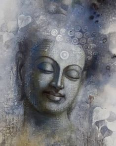 buddha mindfulness by artist sanjay lokhande figurative art - buddha watercolor painting Gautama Buddha, Buddha Buddhism, Indian Art Paintings, Original Paintings, Watercolour Paintings, Watercolours, Original Art, Buddha Painting, Buddha Artwork
