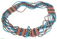 Xhosa Beadwork African Trade Beads, African Jewelry, Ethnic Jewelry, Beaded Jewelry, Beaded Necklace, Beaded Bracelets, Necklaces, Jewellery, Africa Necklace
