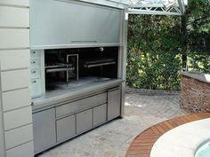 Parrillas Sabato Pagliocca S.R.L. Parrilla Interior, Outdoor Living, Outdoor Decor, Barbecue, Grilling, Oven, Kitchen Appliances, Bbq Ideas, Home Decor