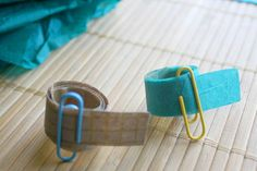 DIY washi tape + 5 projects