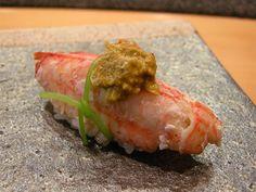 ズワイ松葉蟹にぎり Matsubagani Kani (Snow Crab) Nigiri Sushi 握りすし