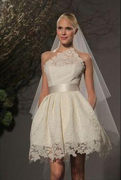 Short Wedding Dress Dresses Gowns Tea Length Unique