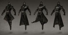 Ermac Variations from Mortal Kombat X