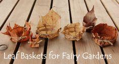 Fairy basket tutorial miniature from beneath the ferns #miniature #fairyhouse #fairygarden #beneaththeferns 10