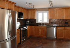 kraftmaid+cabinets | 55. Kraftmaid Cabinets - Maple with a Praline Finish, Bridgport door ...