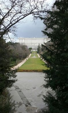 Royal place of madrid