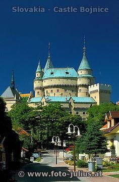 Slovakia, Castle Bojnice