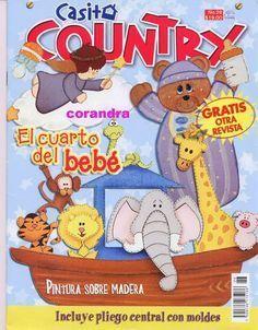 Revista para adornar cuarto de bebé