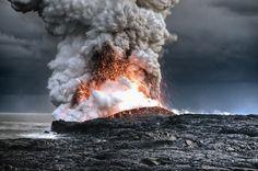 Volcano in Hawaii   Alain Barbezat
