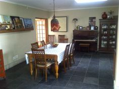 4 bedroom House for sale in Mossel Bay This is what you call HOME. With lots of space, this is an entertainers dream. Living areas flowing out onto the pool on the one side, and a sheltered courtyard on the other side. WEB REF: 4 Bedroom House, Living Area, Space, Table, Furniture, Home Decor, Floor Space, Decoration Home, Room Decor