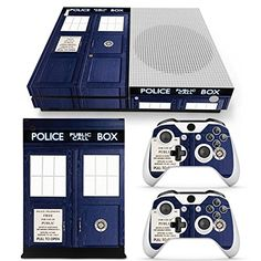 FriendlyTomato Xbox One S Console Controller and Kinect Skin Set  Dr Who  XboxOne Vinyl -- Find out more about the great product at the image link.Note:It is affiliate link to Amazon.