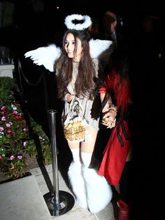 Vanessa Hudgens Halloween party