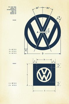 Logo Design, Identity Design, Typography Design, Web Design, Brand Identity, Visual Identity, Logo Branding, Vw Logo, Volkswagen Bus
