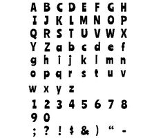Download this Ranchers Typeface Stencil Letters and other free printables from MyScrapNook.com