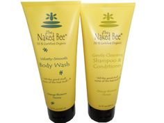 Order this pair of Naked Bee Orange Blossom Honey Body Wash 6.7 Oz + Shampoo and Conditioner at a Special Price: $19.99 !! http://tnsdeals.com/nbbw-lg-nbsh-lg.html
