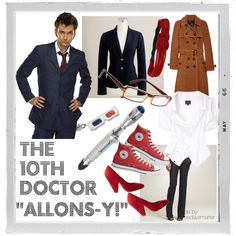 10th Doctor outfit inspiration made by me