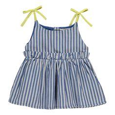Bonnet à pompon Striped Sun Bath Dress-product