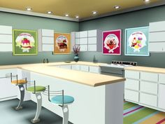 Just Desserts paintings by Abigail • Sims 3 Downloads CC Caboodle