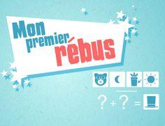 Rébus est un jeu pour les enfants de maternelle et de niveau primaire. Ce jeu consiste à glisser et déposer une paire de cartes-mots pour former un rébus. Il comprend trois niveaux de difficultés. Le but est d'enrichir son vocabulaire.