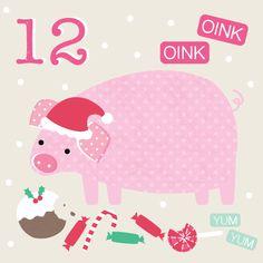 Advent Calendar Day 12 - Amy Underhill