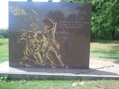 Tennessee Monument at Gettysburg. Photo by Marsha Landry Battle Of Little Bighorn, Confederate Statues, Gettysburg, Monuments, Tennessee, Moose Art, Southern, Flag, History
