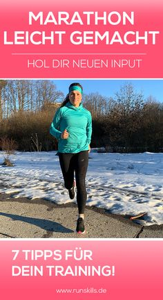 Marathon Training, Cardio Training, Laufen Im Winter, Online Fitness, Marathon Laufen, Marathon Motivation, Nordic Walking, Jogging, Running