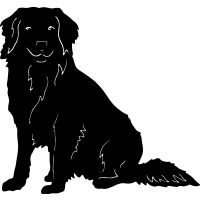 dxf files Duck Tolling Retriever