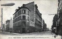 Photos et cartes postales anciennes de Paris 15e Arrondissement, 75015 : Les Rues Mademoiselle et Cambronne - 47