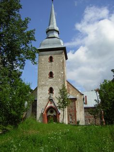 Vastseliina Church, Vastseliina, Estonia, in South Estonia